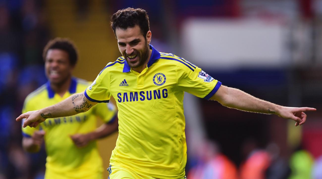 Cesc Fabregas leads Chelsea into Old Trafford to play Manchester United in a high-profile EPL weekend fixture.