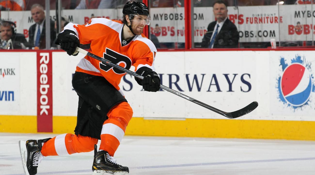 philadelphia Flyers Braydon Coburn Andrew MacDonald injury
