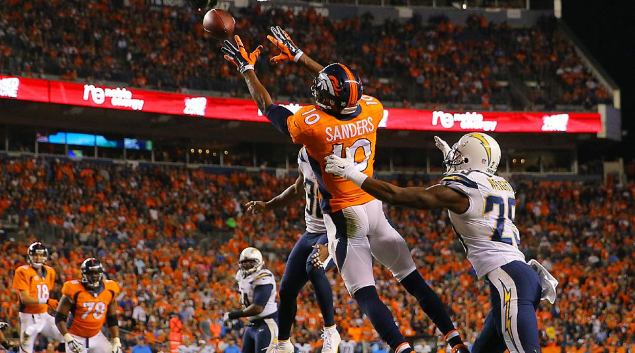 Three Thoughts: Emmanuel Sanders shines in Denver's win over San Diego