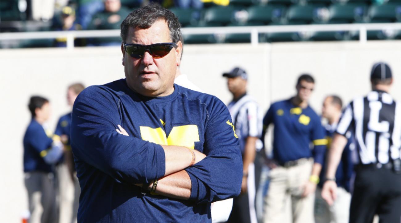 Michigan Brady Hoke apologizes stake