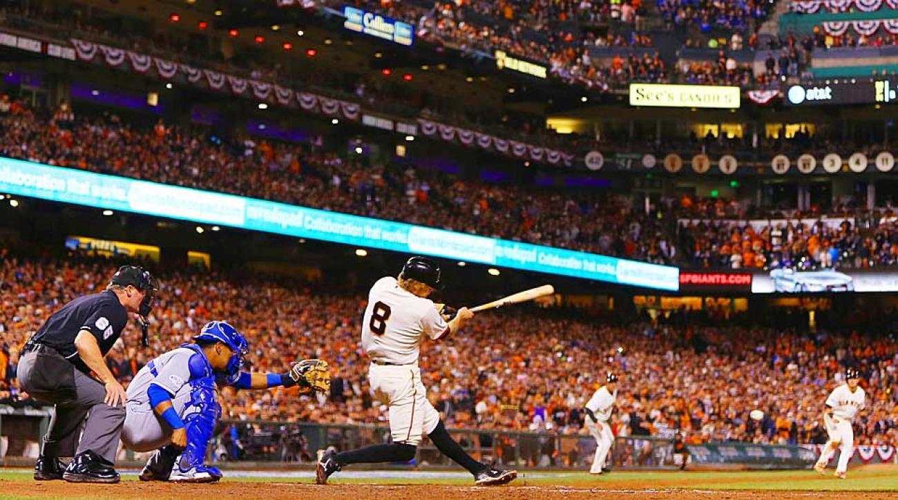 Hunter Pence World Series Game 4