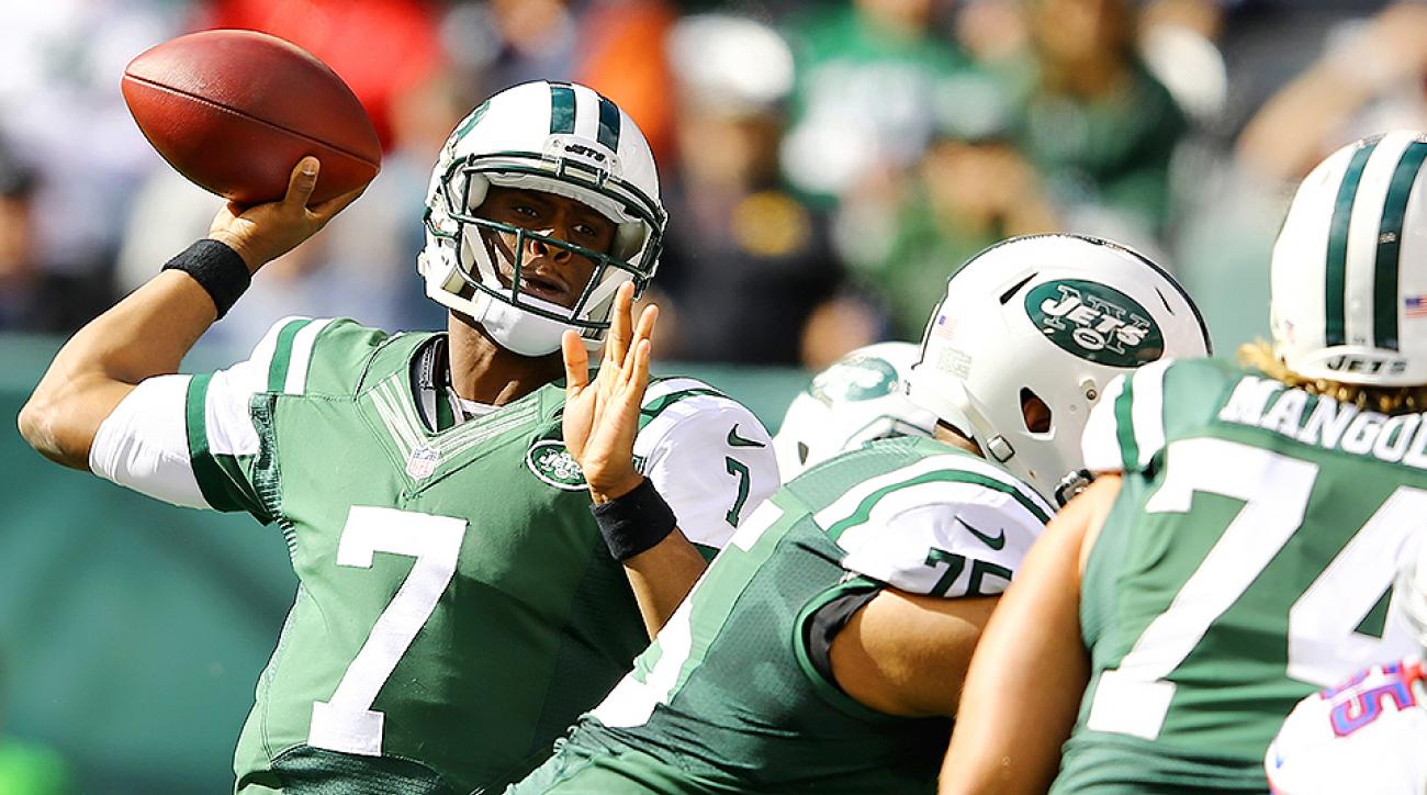 Geno Smith benched for Michael Vick after throwing three interceptions vs. Buffalo Bills