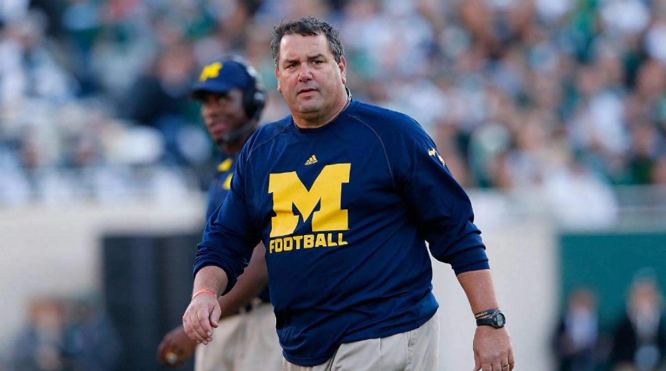 Michigan Brady Hoke job status