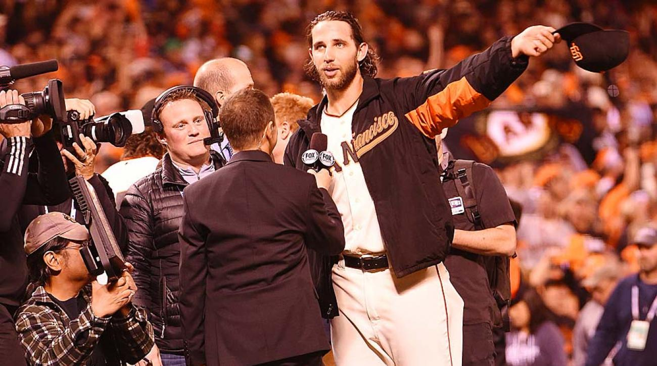 Bumgarner postgame World Series Game 5