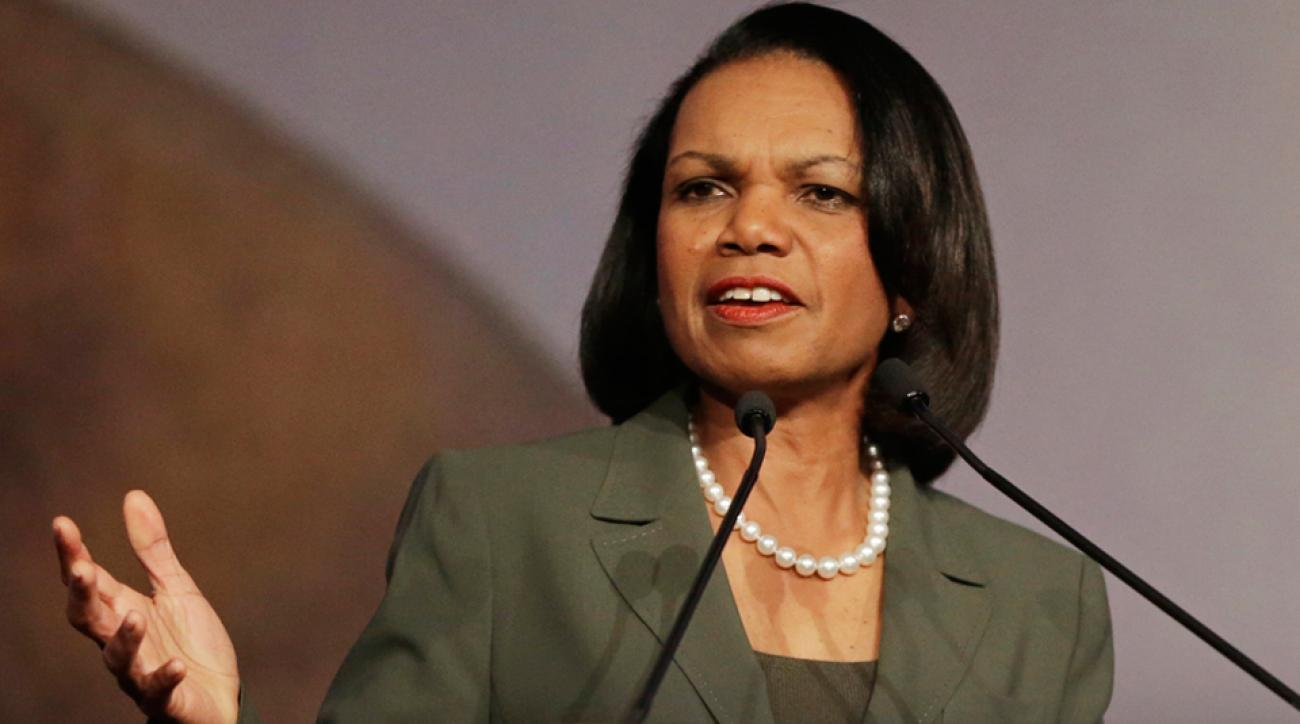 Condoleezza Rice college football playoff committee