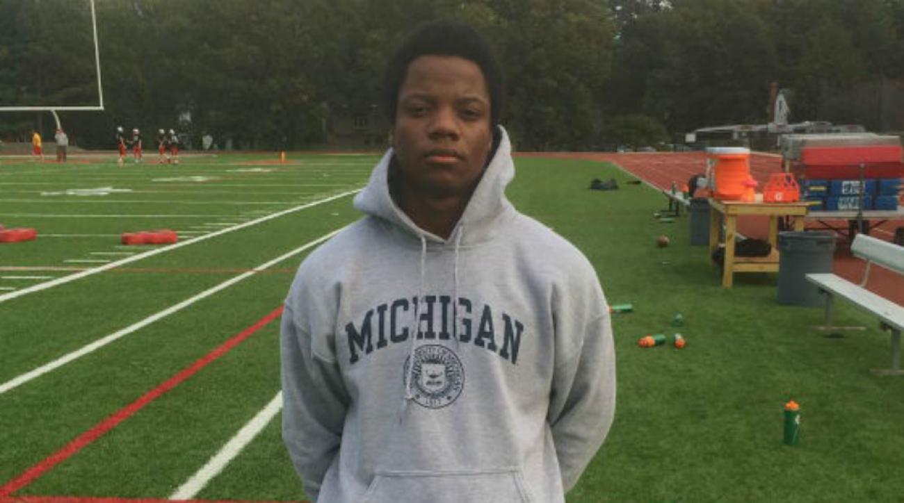 Garrett Taylor decommits Michigan
