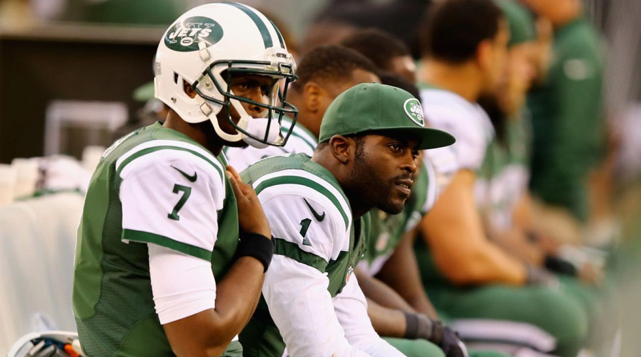 New York Jets Michael Vick starting quarterback week 9
