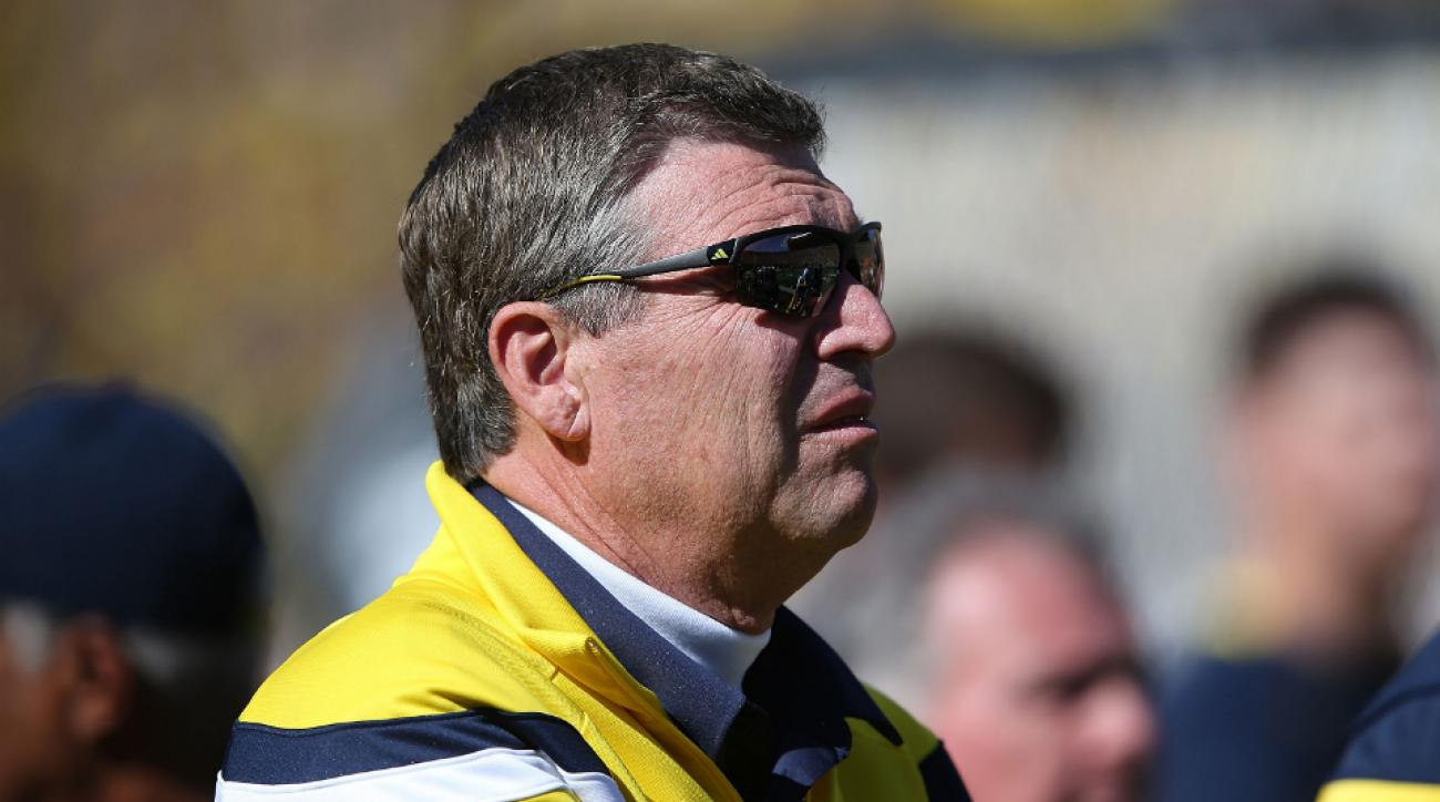 Michigan Stephen Ross won't interfere dave brandon