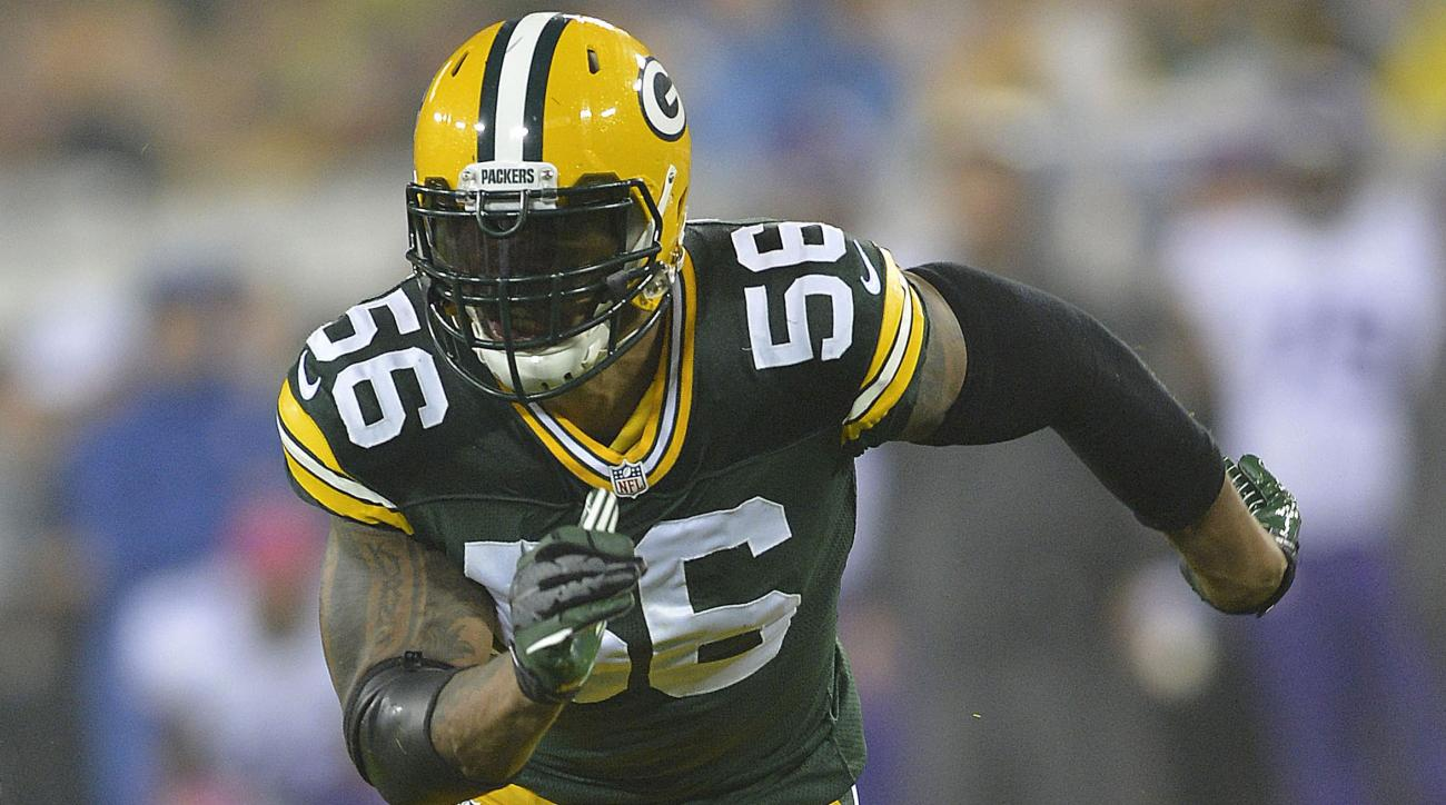 Packers Julius Peppers dropped pass