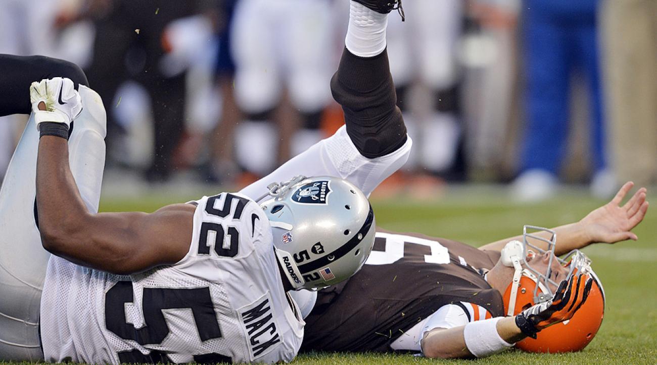 NFL Week 8 Winners, Losers: Silver lining for Oakland Raiders?