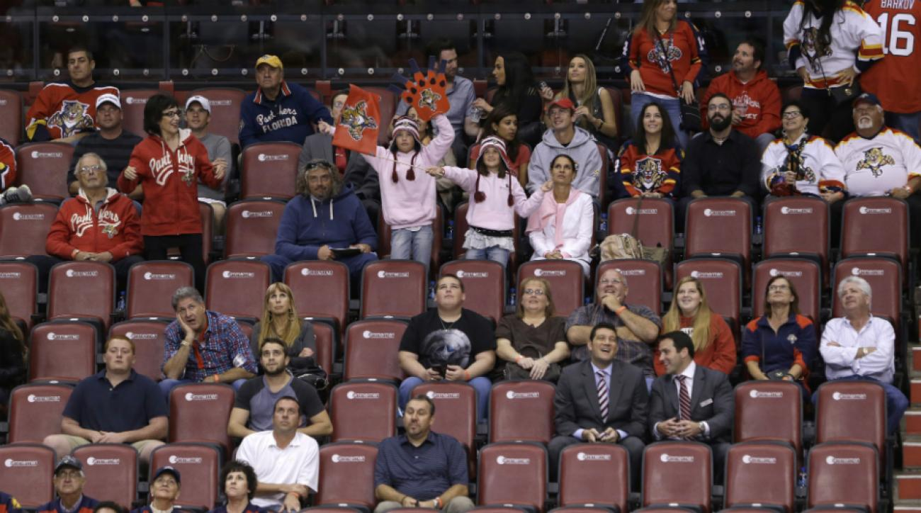 Florida Panthers attendance improve Dale Tallon