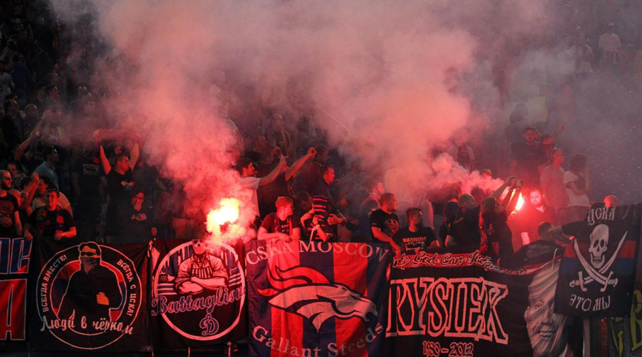 UEFA CSKA Moscow punishment fan violence racism