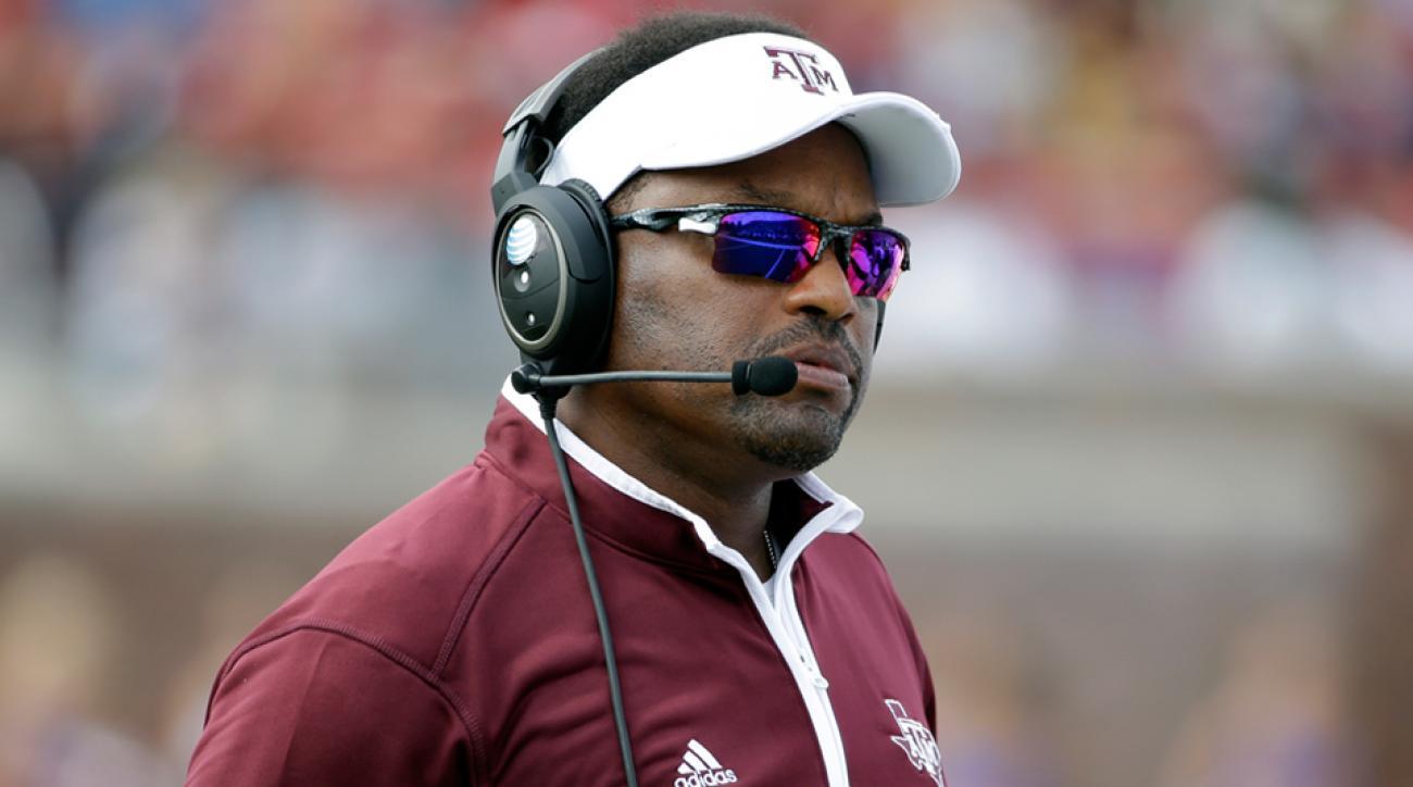 Kevin Sumlin Texas A&M head coach