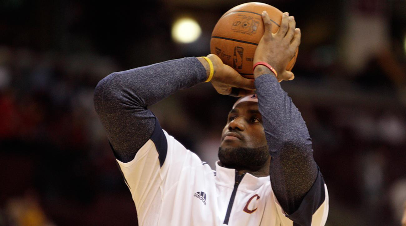 LeBron James Cleveland Cavaliers start time