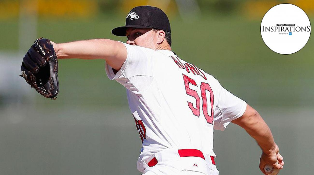 St. Louis Cardinals prospect Mitch Harris chases pitching career after five years in the Navy