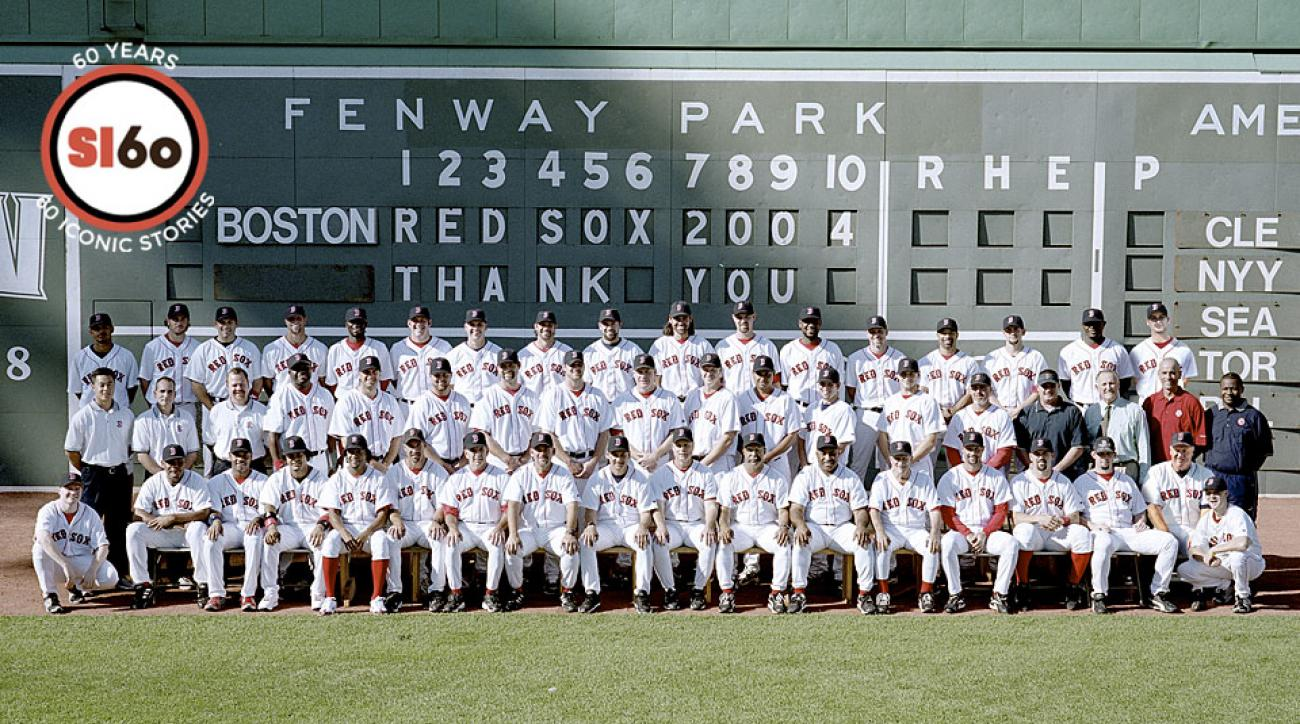 7679a338c0d SI 60  Sportsmen Of The Year  The 2004 Boston Red Sox