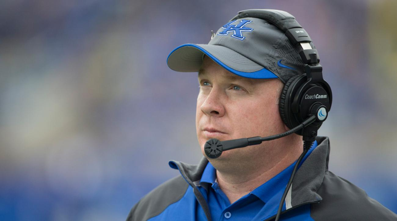 Mark Stoops Kentucky head coach