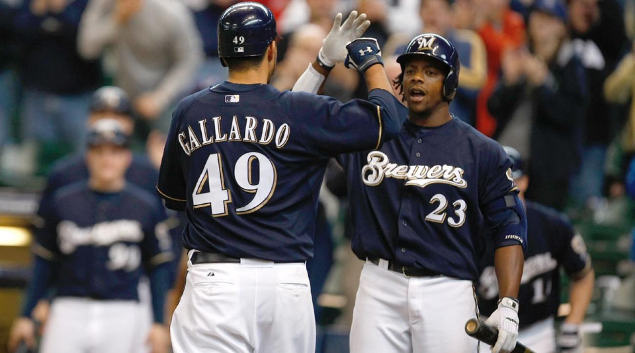 Milwaukee Brewers Yovani Gallardo Rickie Weeks contract option