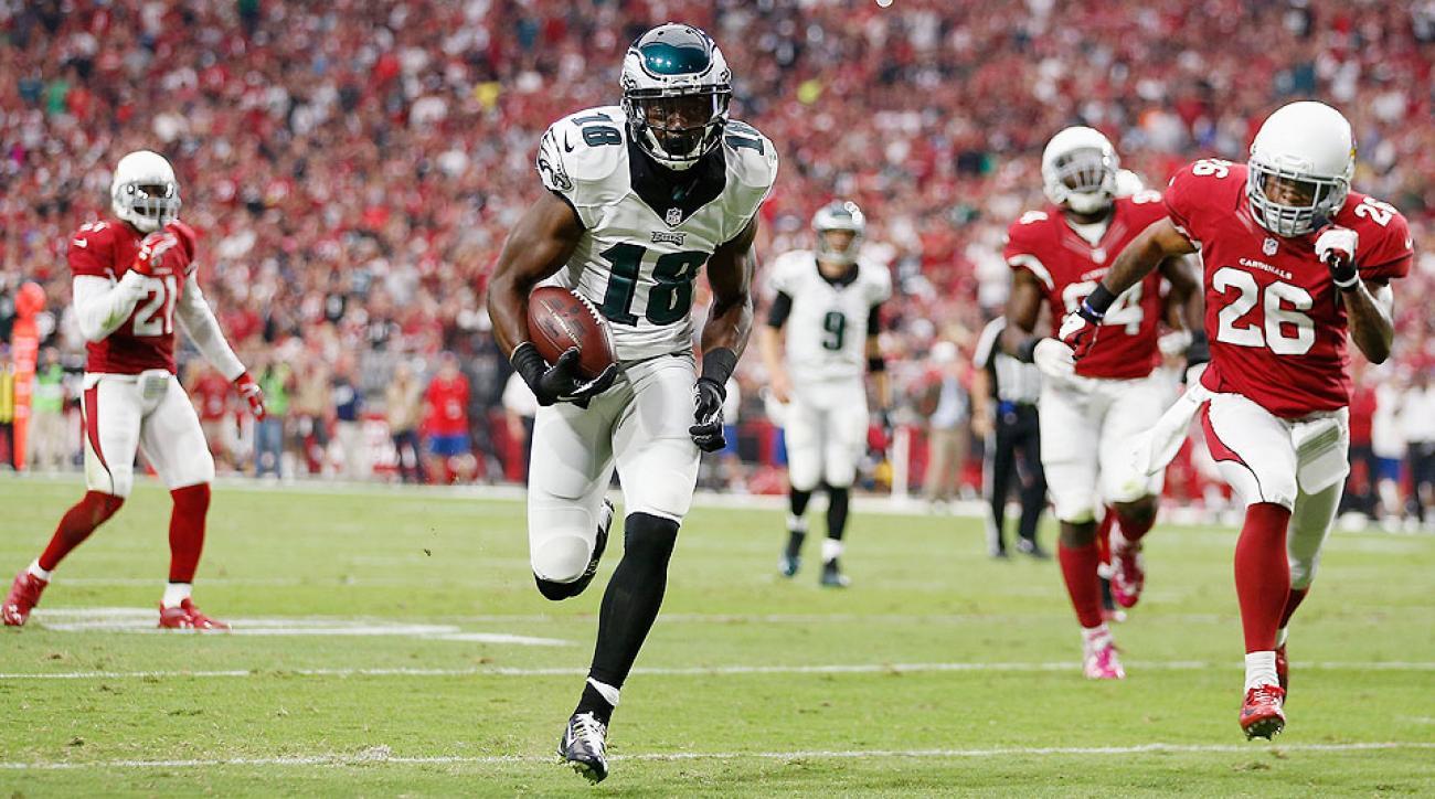 NFL Week 9: Jeremy Maclin enjoying breakout season with Philadelphia Eagles