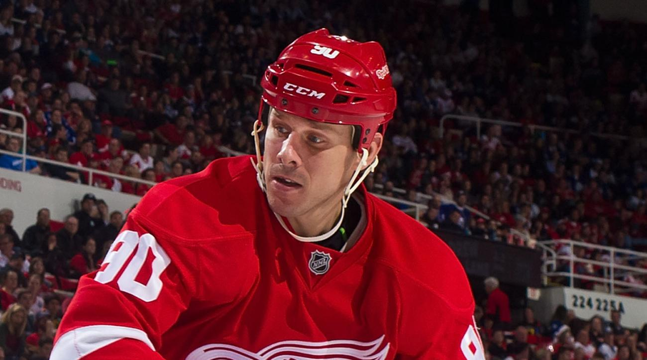 Red Wings Stephen Weiss injured reserve