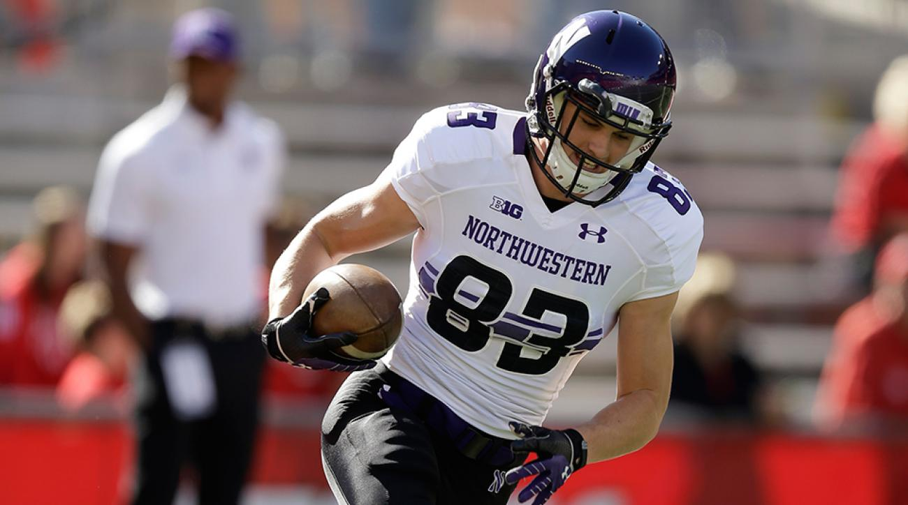 Mike McHugh Northwestern receiver
