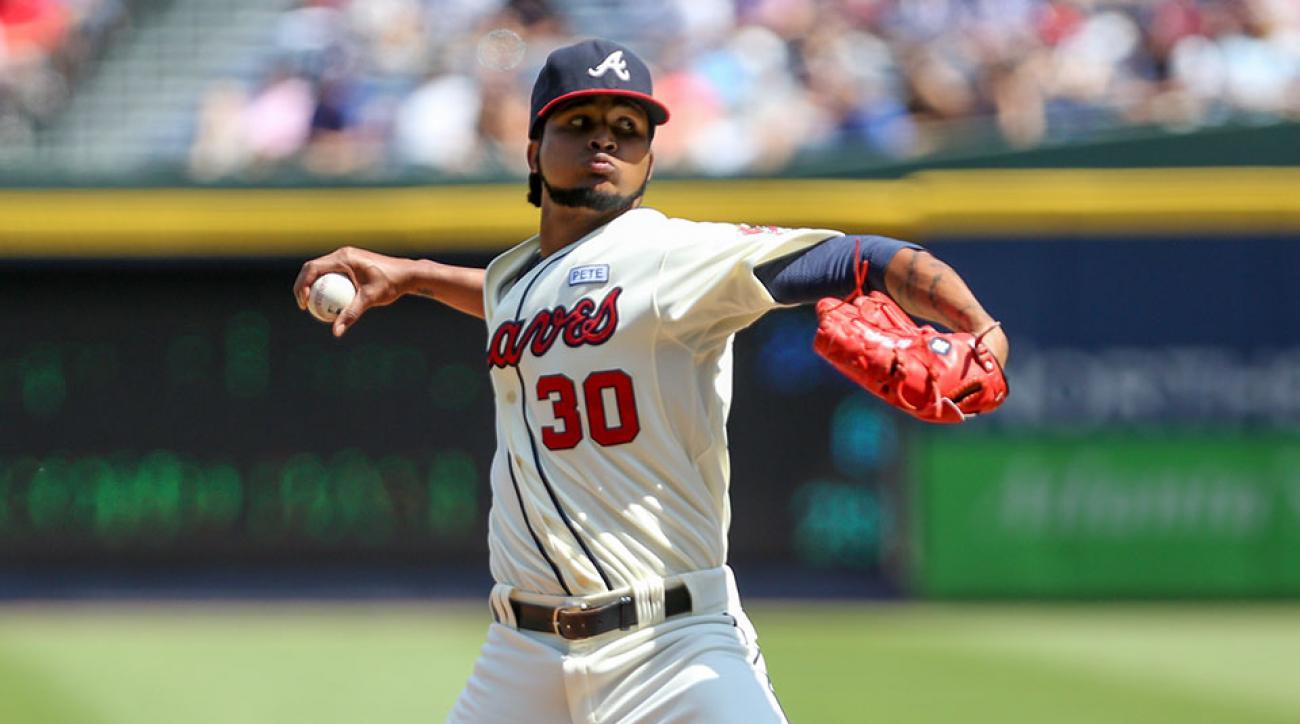 Atlanta Braves Ervin Santana