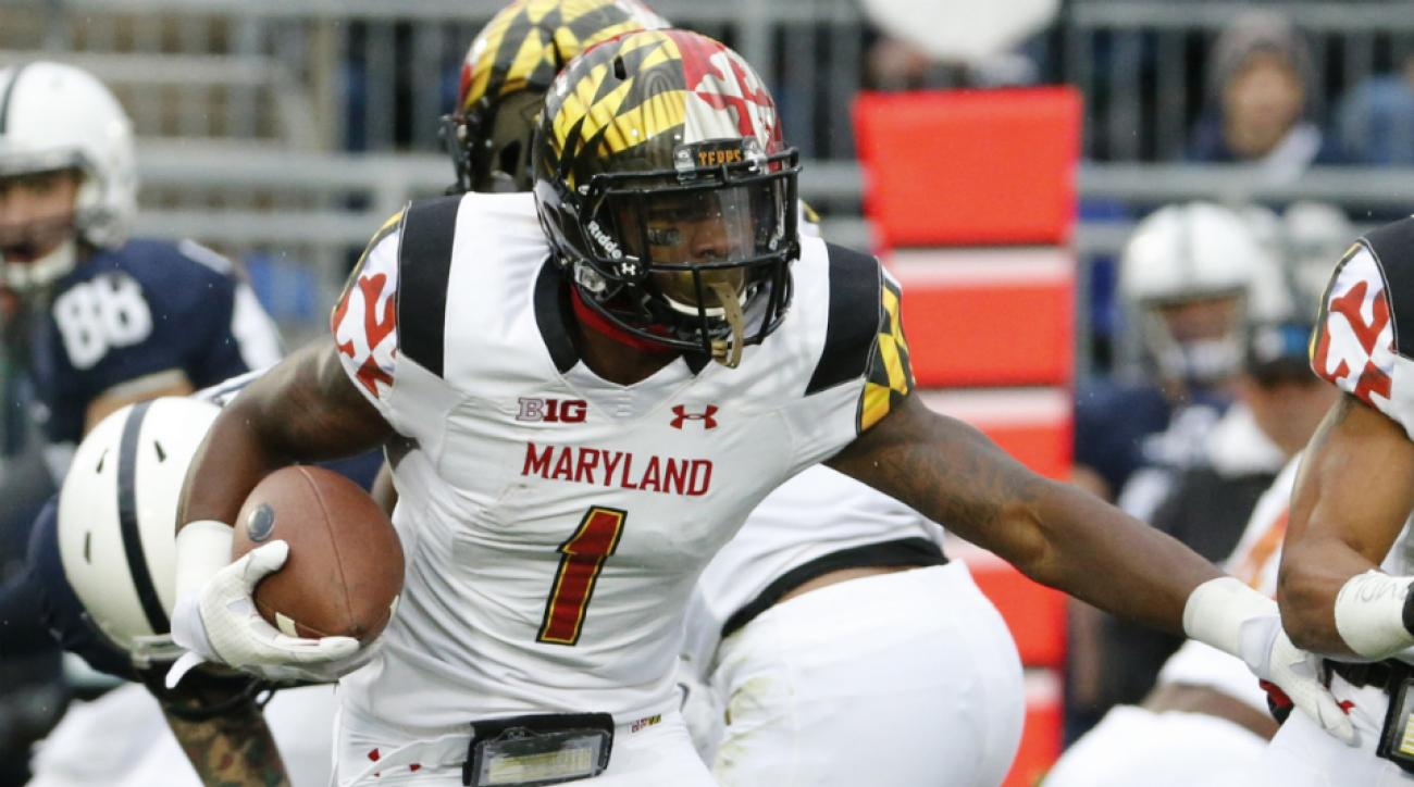 Maryland WR Stefon Diggs suspended Big Ten handshake incident