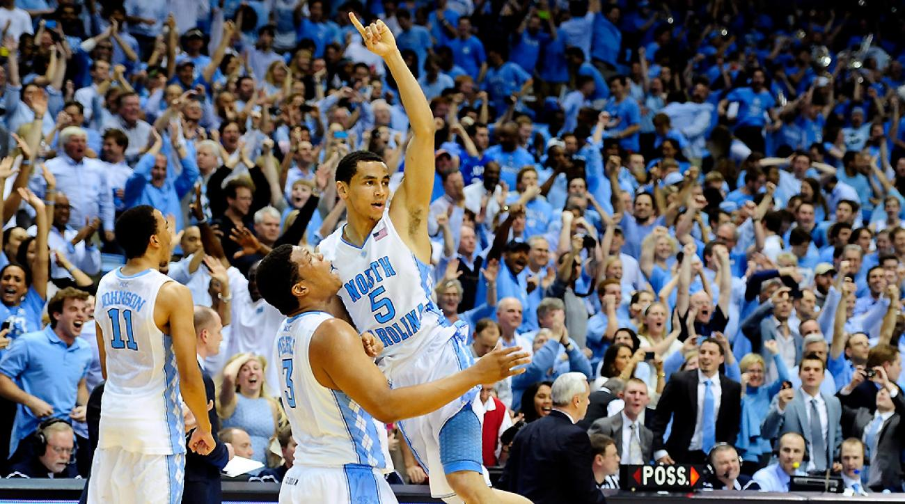 Marcus Paige (No. 5) did it all for North Carolina, but the Tar Heels hope to give him a little help this season.