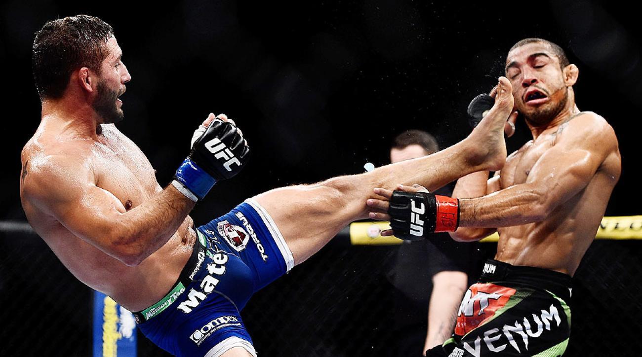 Chad Mendes Jose Aldo UFC 179