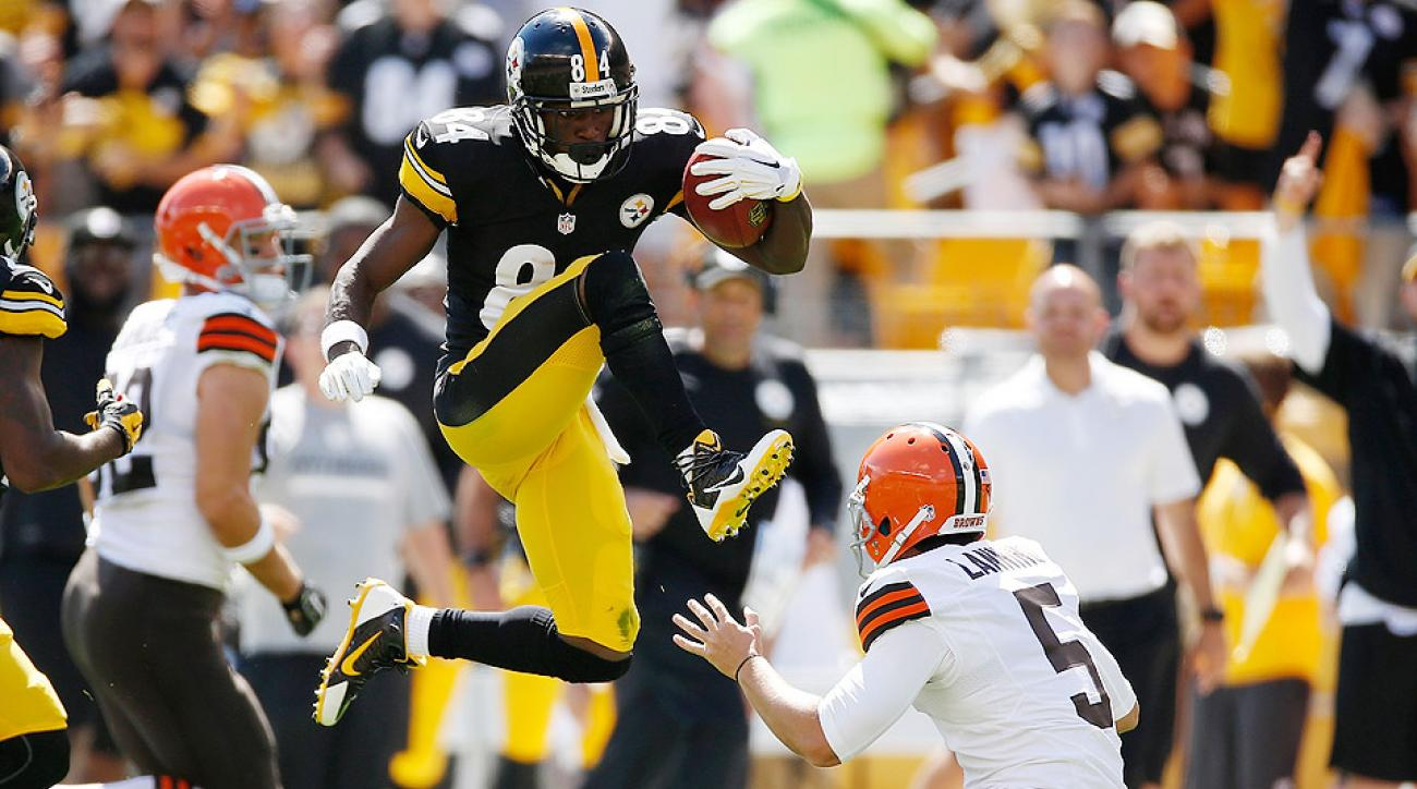 NFL midseason Sour Rankings: Antonio Brown kick; celebration injuries