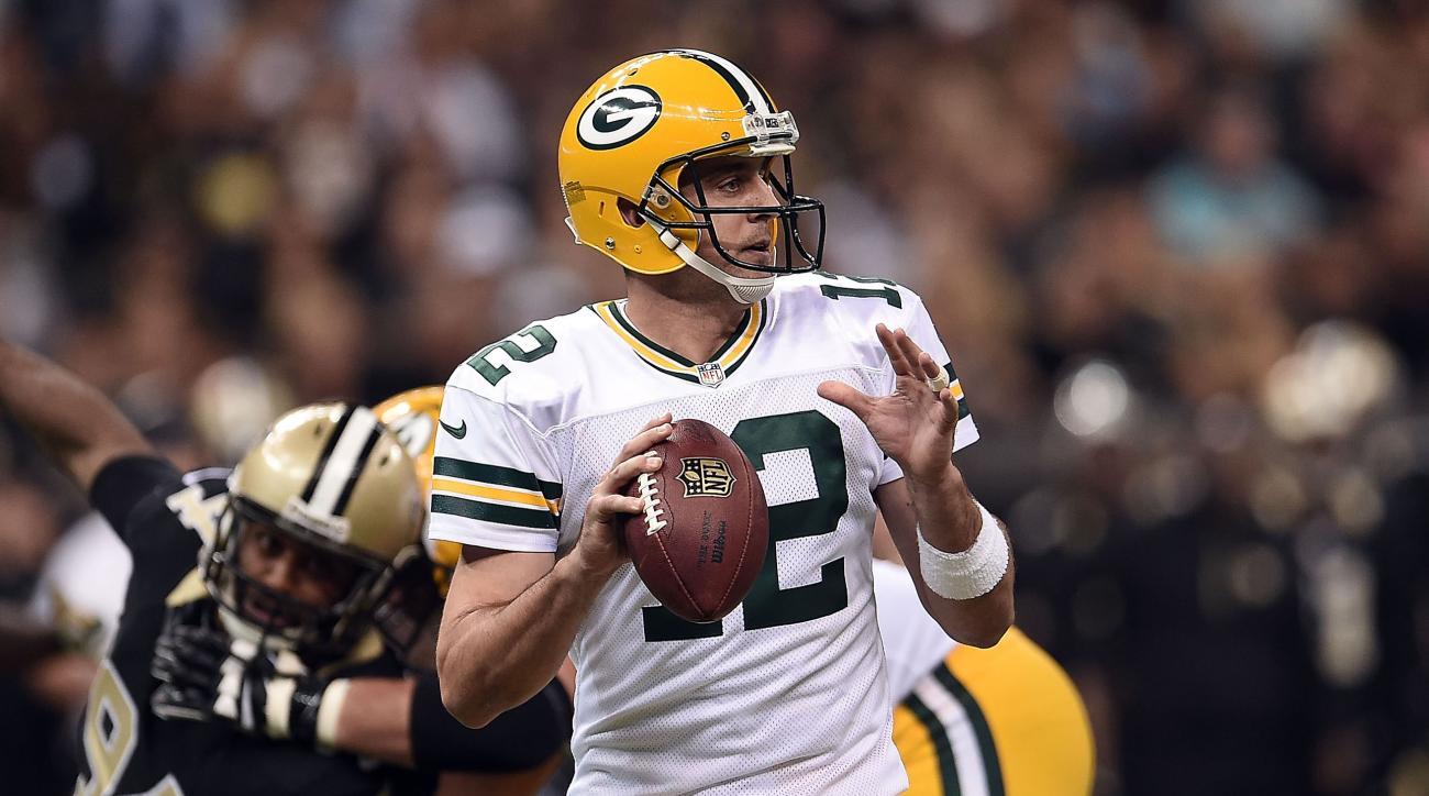 Packers Aaron Rodgers hamstring injury