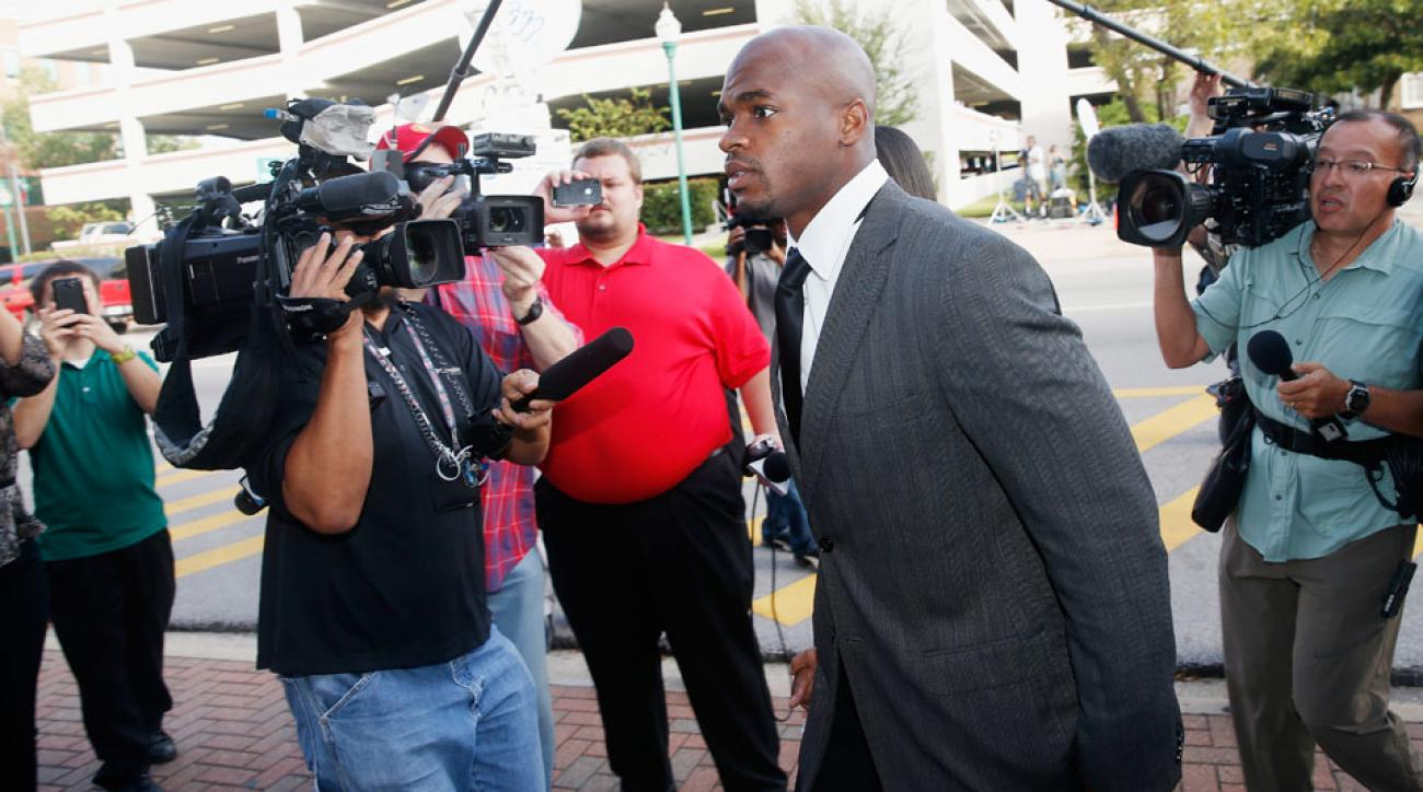 Minnesota Vikings RB Adrian Peterson will reportedly plea no contest to a misdemeanor.