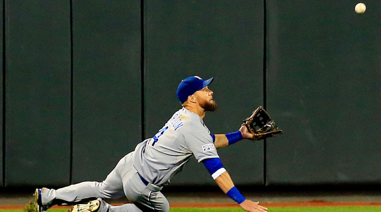Alex Gordon Gold Glove winner