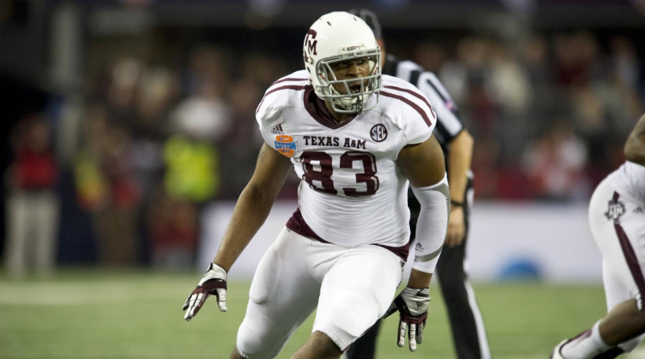 Alonzo Williams Texas A&M locker room chemistry