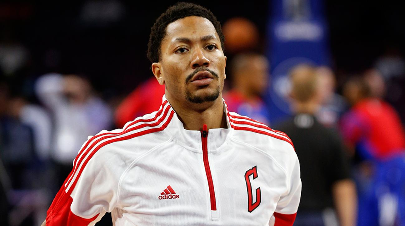 Derrick Rose out vs Magic