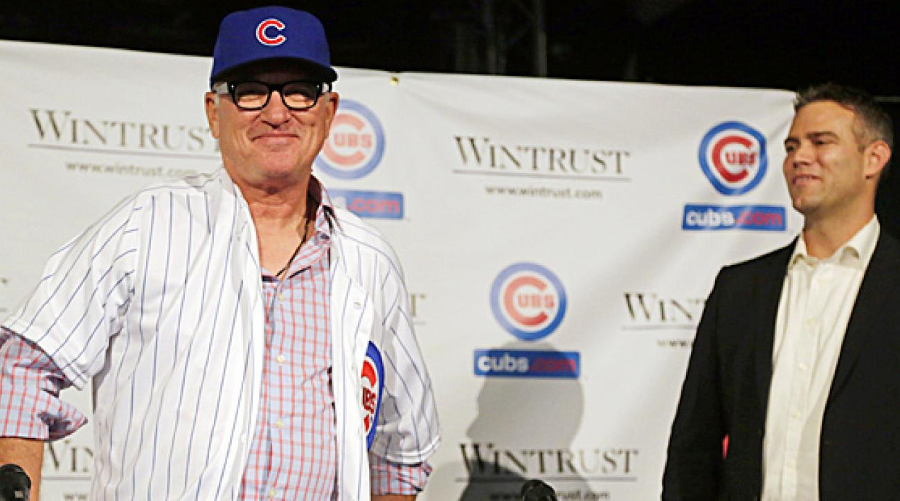 Joe Maddon introduced as Cubs manager