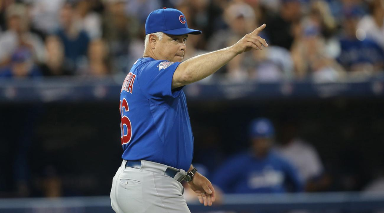 Chicago Cubs president Theo Epstein says the team was not fair to former manger Rick Renteria.