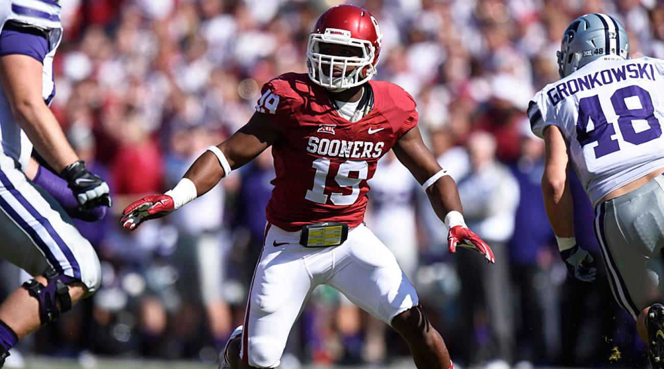 oklahoma lb eric striker how sooners u0027 star broke mold to become