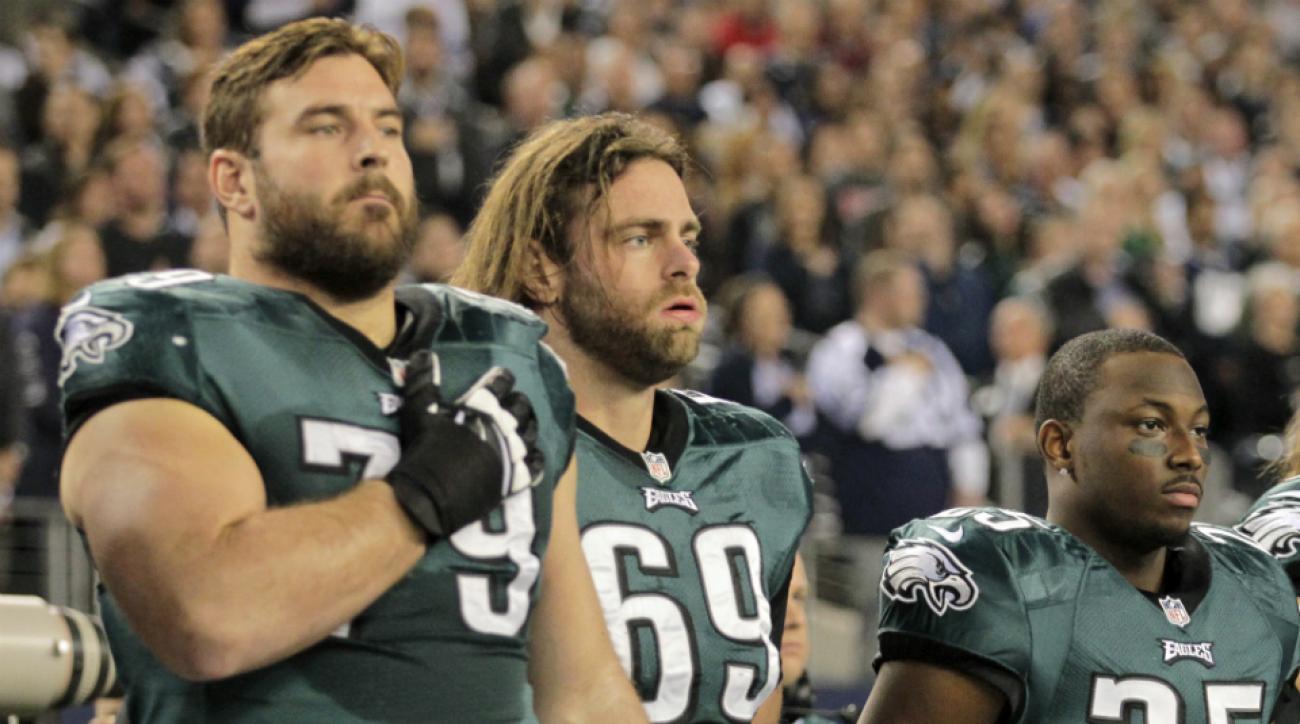 Eagles activate Evan Mathis Todd Herremans IR
