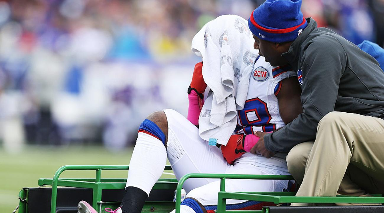 NFL injury report at midseason: Calvin Johnson, C.J. Spiller among wounded