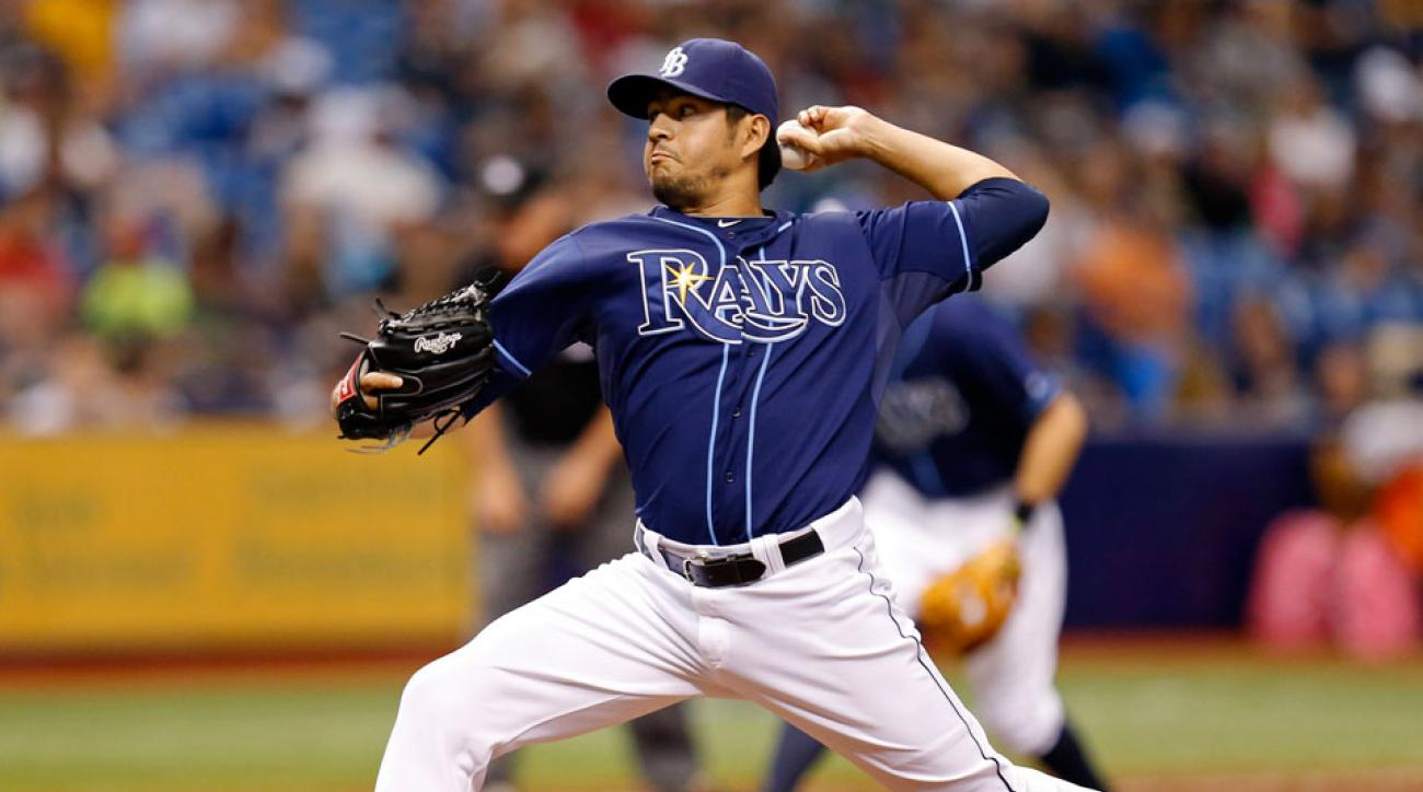 Tampa Bay Rays trade Cesar Ramos to Angels
