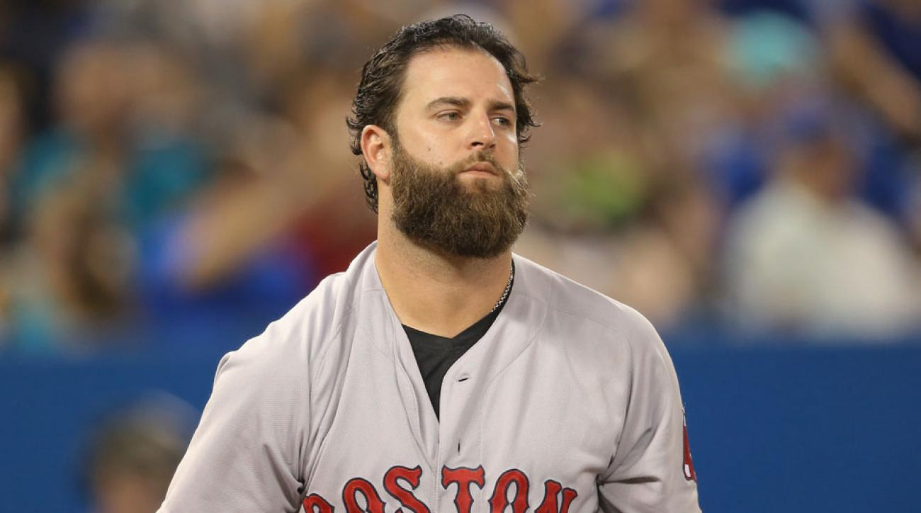 Boston Red Sox Mike Napoli