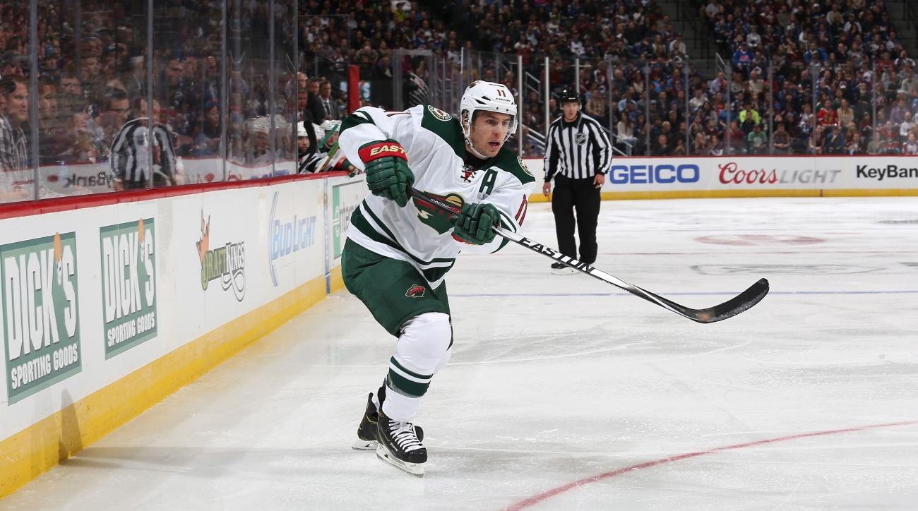 Wild's Zach Parise injury out