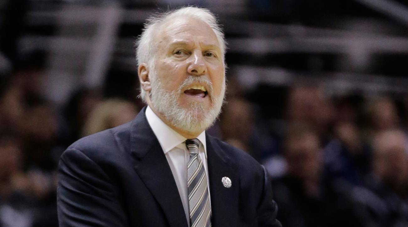Gregg Popovich Spurs