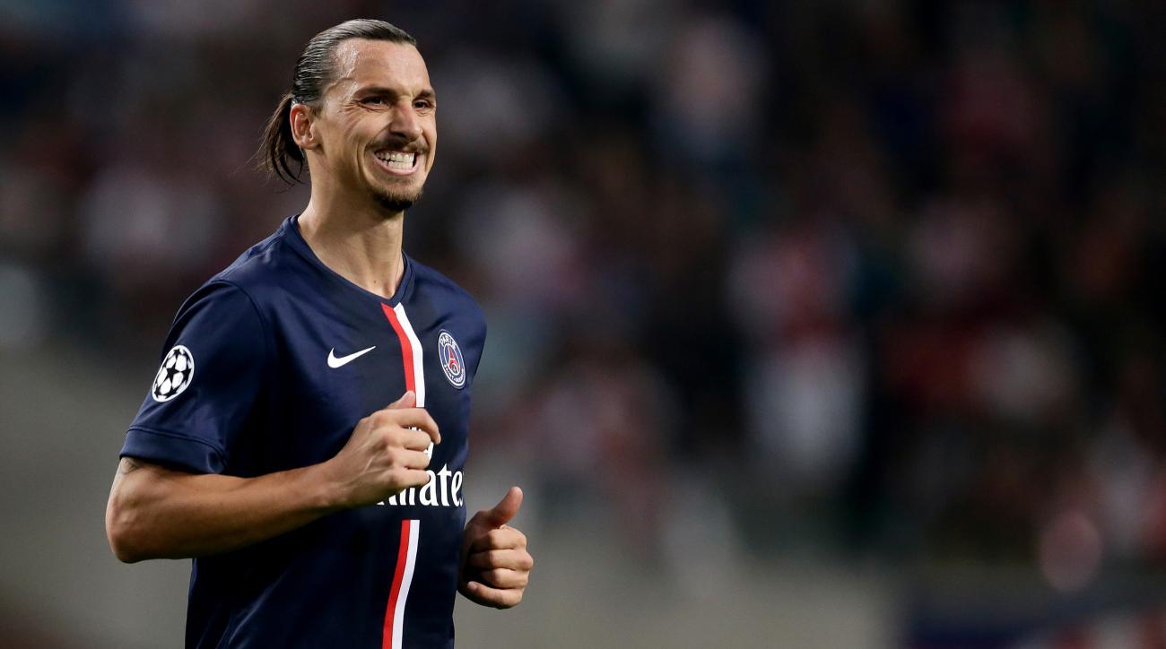 PSG Zlatan Ibrahimovic heel return