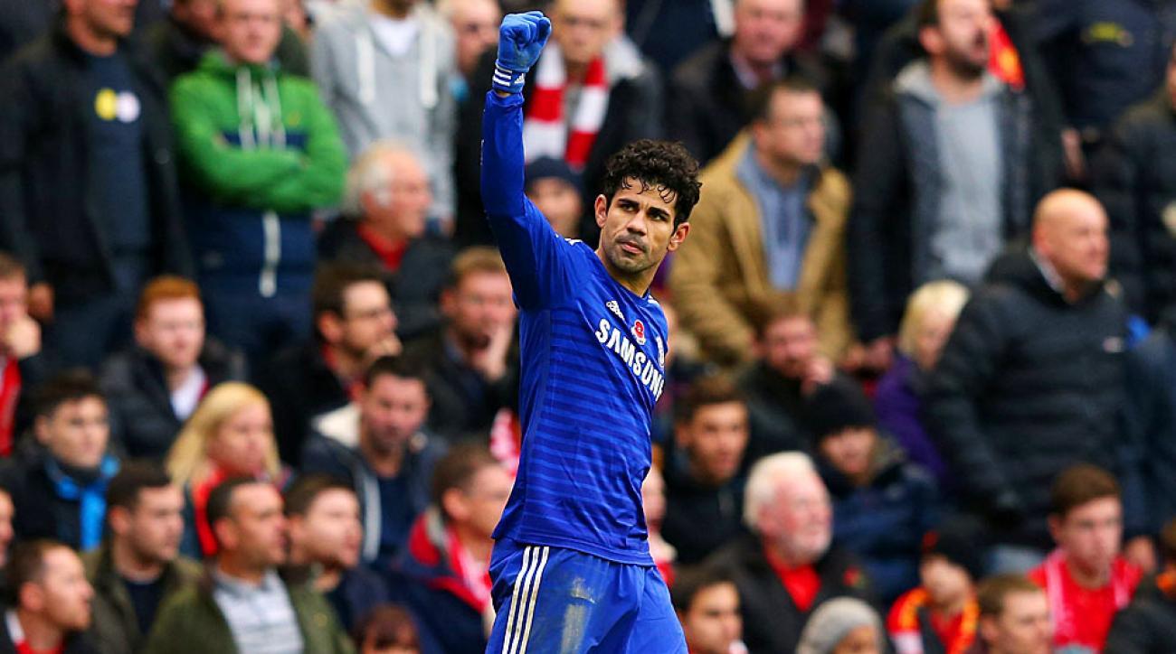 Diego Costa Chelsea vs. Liverpool