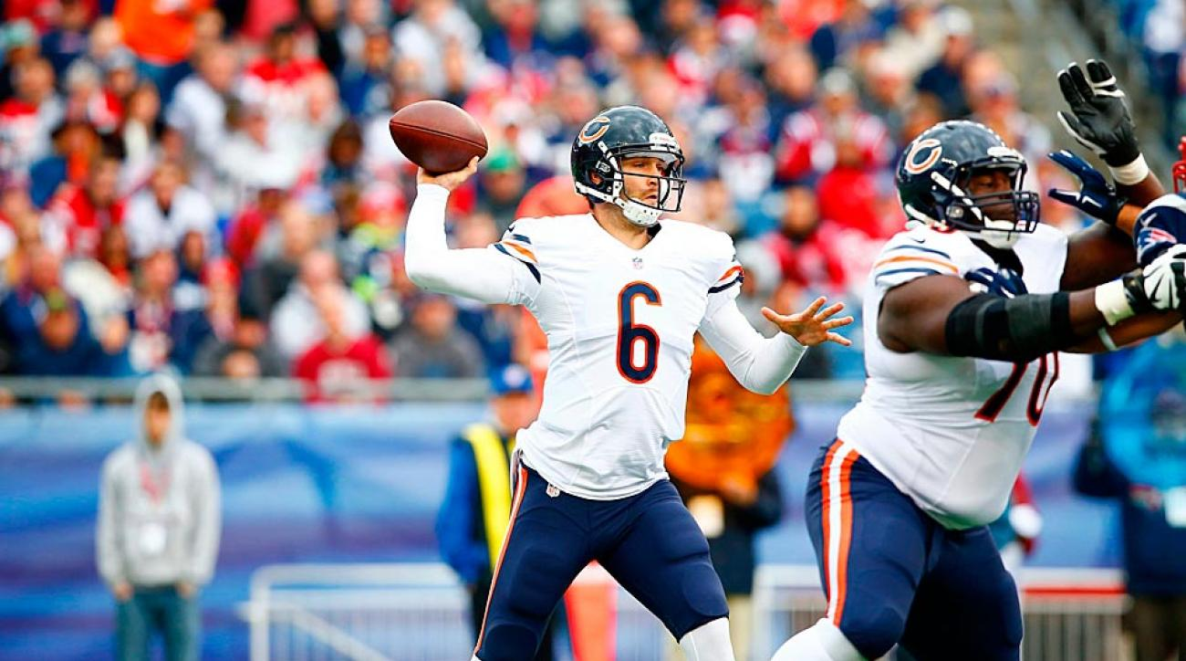 Jay Cutler Bears vs. Patriots