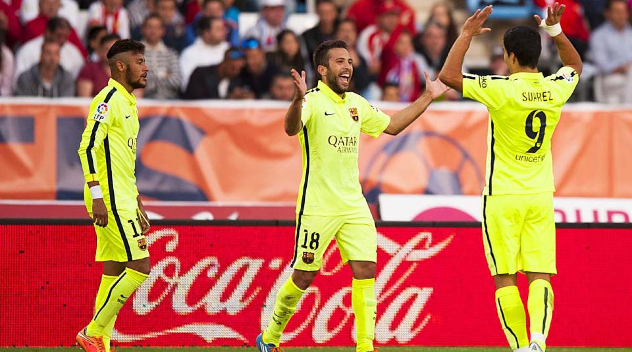 Luis Suarez Barcelona vs. Almeria