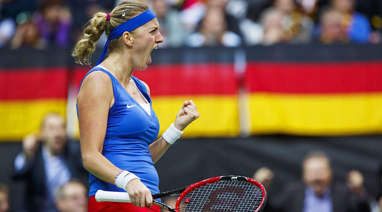 Petra Kvitova Czech Republic Fed Cup