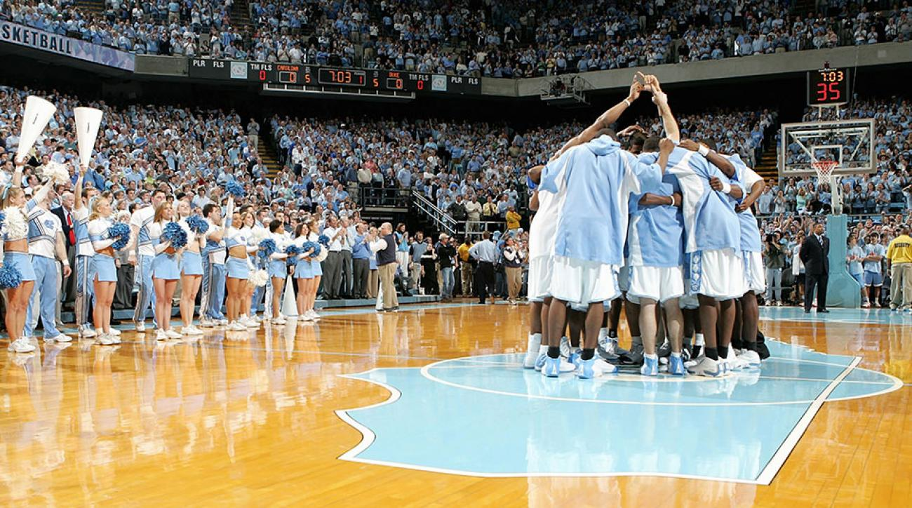 UNC basketball 2005